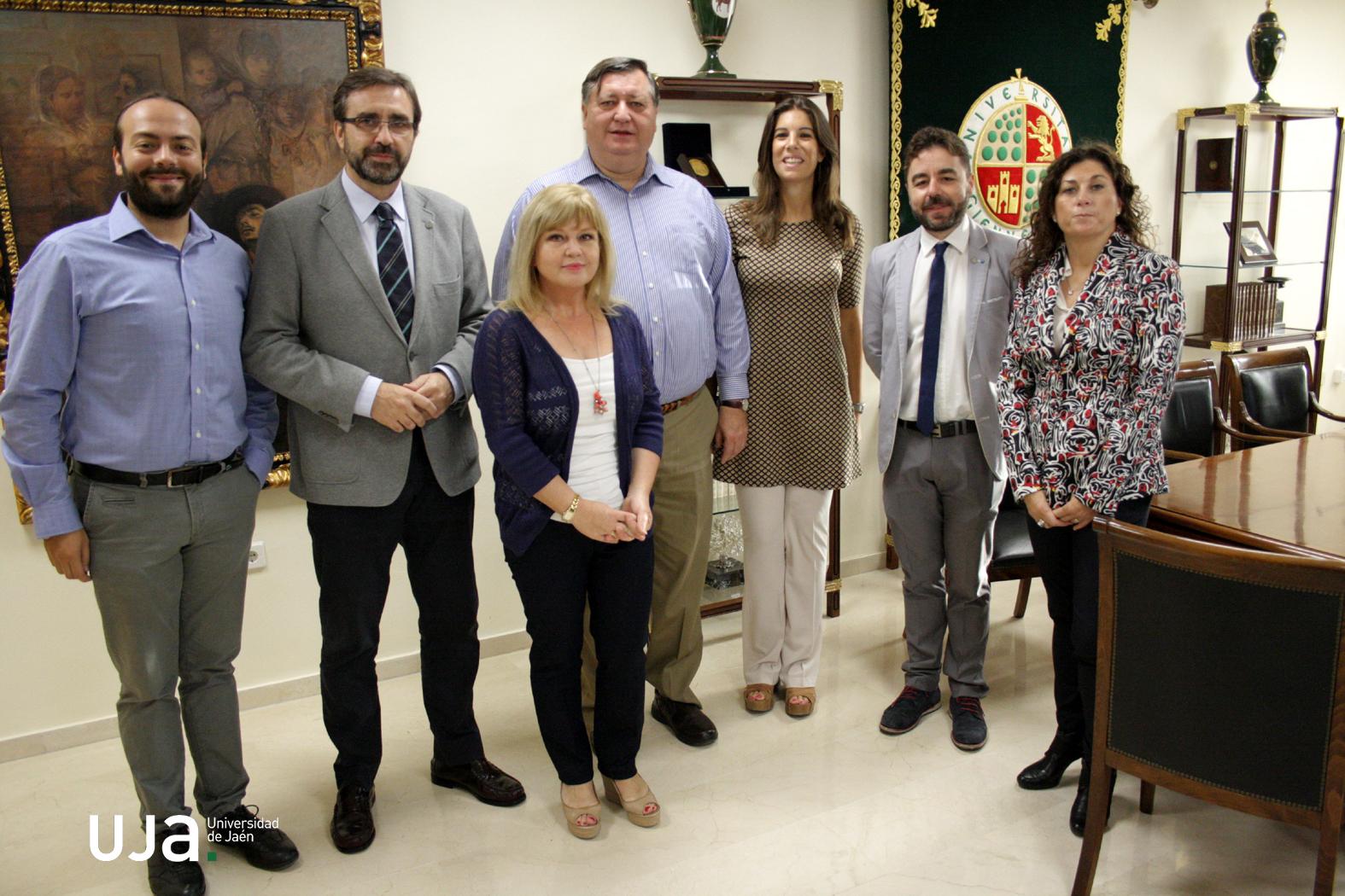 La universidad de ja n recibe al primer grupo de for Profesores en el extranjero