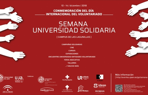 Cartel de la Semana Universidad Solidaria.