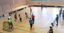 Floorball en la UJA.