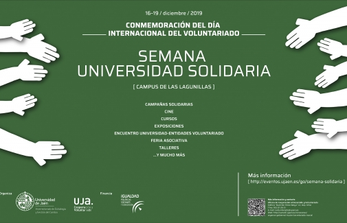 Cartel de la Semana Universidad Solidaria